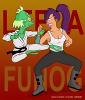 Leela Vs Funog by mr35mm