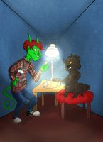:CO: Double Happiness by Blumestien
