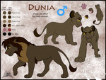 Dunia Ref - Commish by JessiRenee