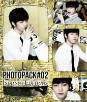 L (INFINITE) - PHOTOPACK#02 by JeffvinyTwilight