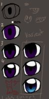 how zaiqukaj colors eyes by zaiqukaj