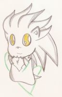 silver chibi :3 by AshleytheWolff