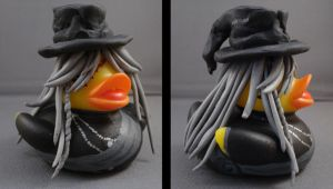 Undertaker Duck by spongekitty