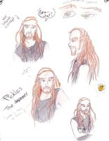 Pickles quick drawings by Raenyras