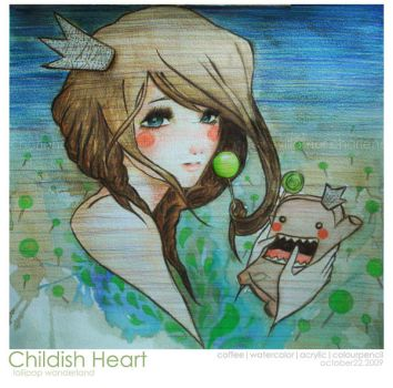 CHILDISH HEART by winRie