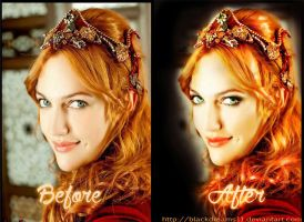 Hurrem - Before and After by BlackDreams11