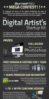 Artists 'Start-Up' Kit - Competition!! by conzpiracy