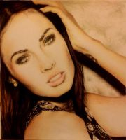 Megan Fox finished by IamLesFleurs