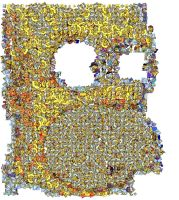 Homer Simpson Mosaic by Cornejo-Sanchez