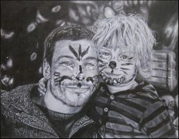 Smile-Father and Son by Acaroline05