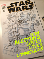 Star Wars sketch covers by BrianKesinger