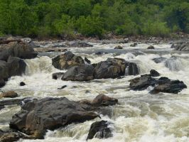 Great Falls of the Potomac 40 by Dracoart-Stock