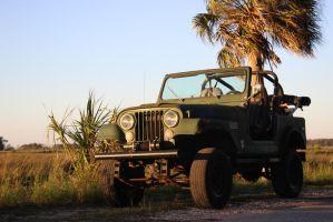 Jeep CJ7 by Maggiesdaisy