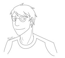 HS: Dave Strider Lineart by Racesolar