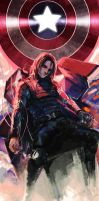 winter soldier by noax13