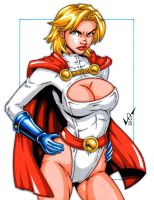 Powergirl commission by gb2k