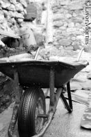 The Lonely Push-cart by Livor-Mortiis