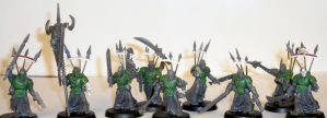 Chaos Heretics Close Combat by WordBearer