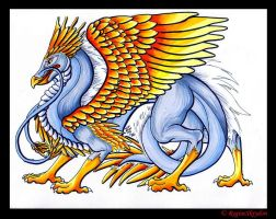Dragons - Phoenix Dragon C by RegineSkrydon