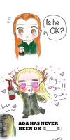 Oh Ada.... by chibiaddict4ever