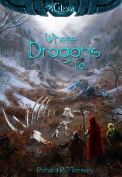 Where Dragons Lie book cover by dracolychee