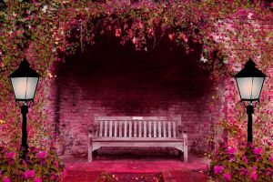 Spring Garden Premade Background by SusanaDS-Stocks