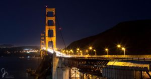 SF Golden Gate Bridge by jvisuals