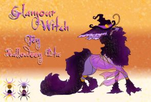 FEN DTA [WINNER] : Halloween Glamour Witch by Akatix