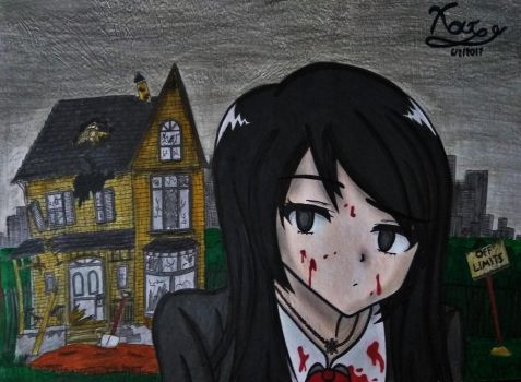 Yandere Tomomi by AnimeGeorge2001