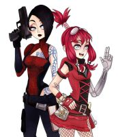Maya and Gaige by TrololhAnime