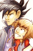 Chazz and Jaden by AliWildgoose