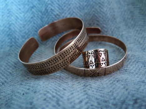 Another bracelets and ring by Zbranek