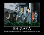 Shizaya motivational by garbagerocks
