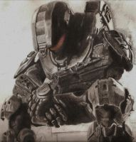 Master Chief by poisonnova