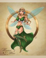 Neverland Fairies tink by KDart by k-d-art