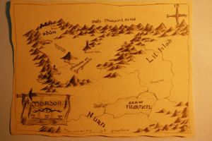 Map of Mordor by DominikFanta
