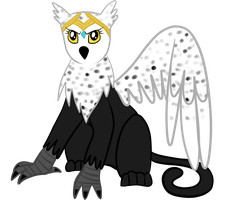 her excellency, queen of the griffons by Tinyfeather