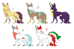 Adoptables by Arseniks