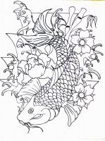 Isaiah's Koi by h8machineh8