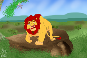 Scar's Reign - He takes Simba in 'What if' by Lionesses101