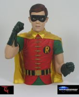 Robin bank paint by BLACKPLAGUE1348