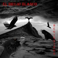 El-bruho-blanco-synth-rock-usa-front-coverl-abum-a by MOONRINGDESIGN