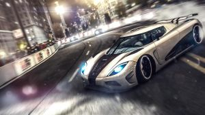 Agera drifting ... by GhostedMan