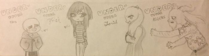 Under-Upper Chibis 2 by pandahandsome
