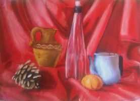 Watercolor - Still Life by eduaarti