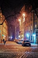 Cracow at night by zeberko