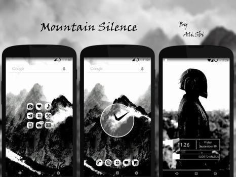 Mountain Silence by alisbi