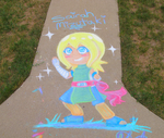 Sairah Chalk Art by Conekonyan