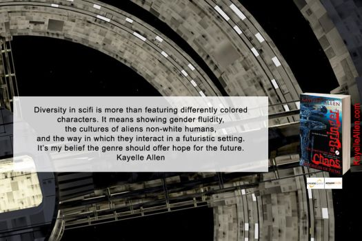 Diversity in Scifi (quote from interview) by kayelleallen