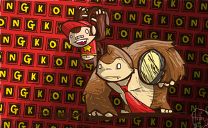 Donkey, Donkey Kong is HERE! by Concore